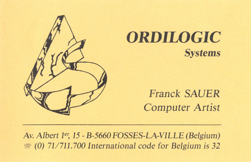 Ordilogic card